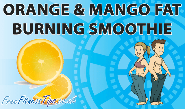 Orange & Mango Fat Burning  Smoothie