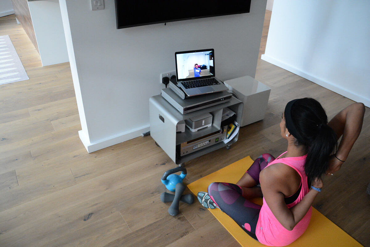 Is Webcam Personal Training The Future?