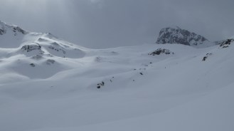 Fresh powder from the Col du Palet, Tignes