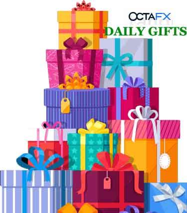 OCTAFX DAily Gift