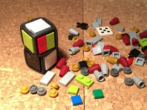 Lego dice turned into custom dice for FU
