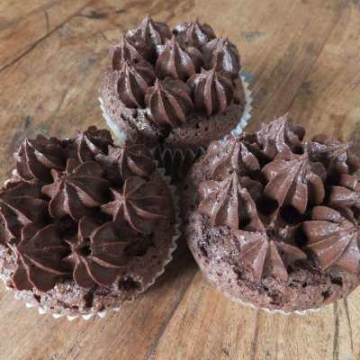 The Secret to Great Gluten-free Cakes, And A Chocolate Cupcake Recipe