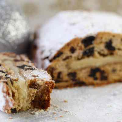 Gluten-free, Dairy-free, Soya-free Stollen