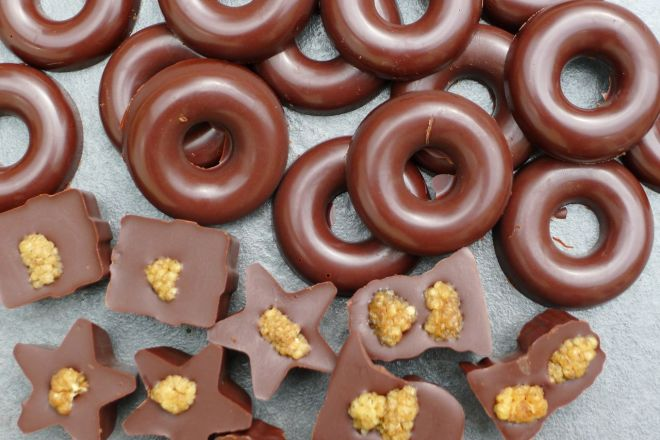 ...and doughnut shaped ones!
