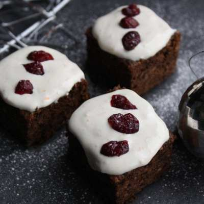 A Healthy Alternative Christmas Cake (Glutenfree, Lactose free, Low Carb, Low FODMAP, Low Sugar)