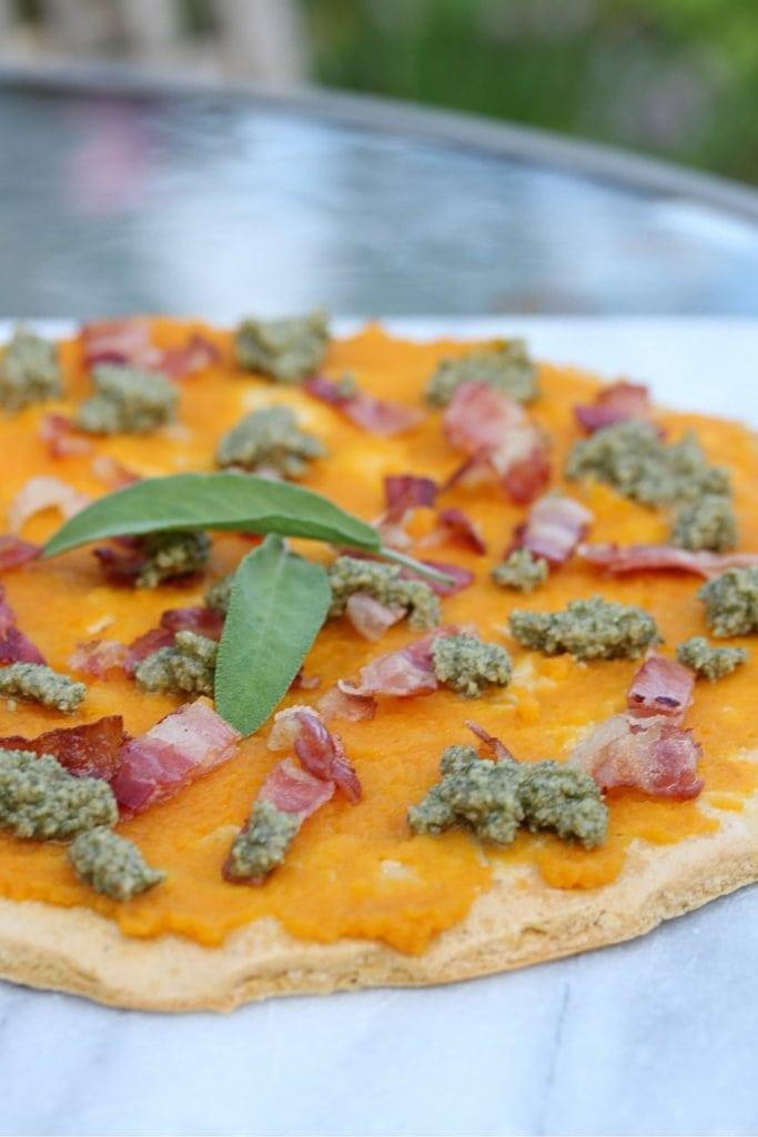 farinata pizza portrait