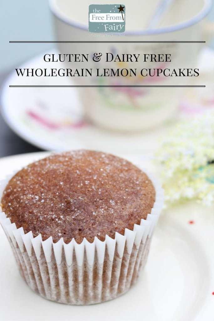 gluten & Dairy freelemon cupcakes