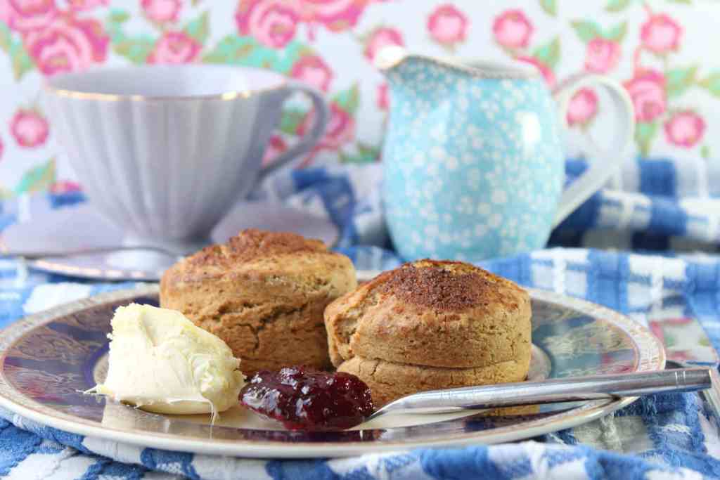 the best gluten-free scone recipe you'll ever find using the Free From Fairy's wholegrain gluten and rice free flour blend