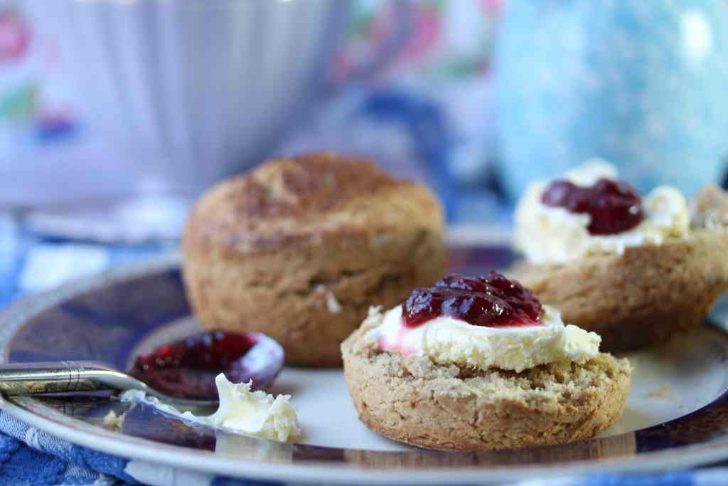 Fabulous gluten free scones made with the Free From Fairy wholegrain gluten and rice free flour blend.