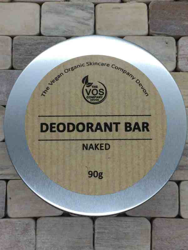 solid deodorant bar naked
