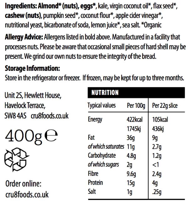 Paleo Kale Nutrition Sept 2020