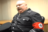 Nazi leader interviewed in the film Speciesism the Movie
