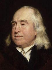 Jeremy Bentham by Henry William Pickersgill