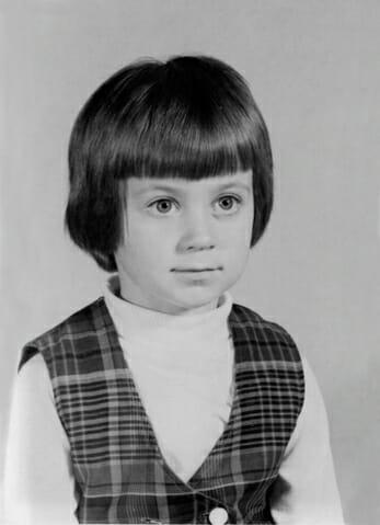 Pamela Ziemann, five decades ago
