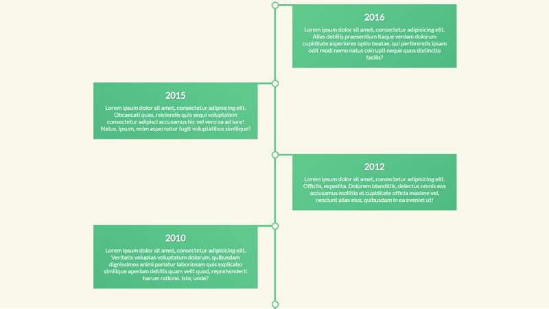 Demo Image: Responsive Timeline