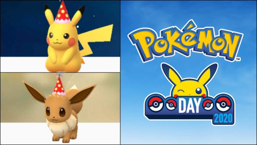 Pokemon Go How To Get Pikachu And Eevee With Party Hat