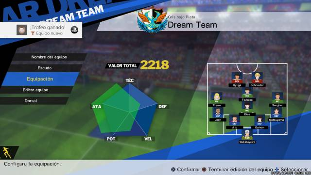 Captain Tsubasa: Rise of New Champions, Reviews of the Champions game