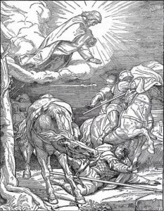 The conversion of Saul on the Damascus Road