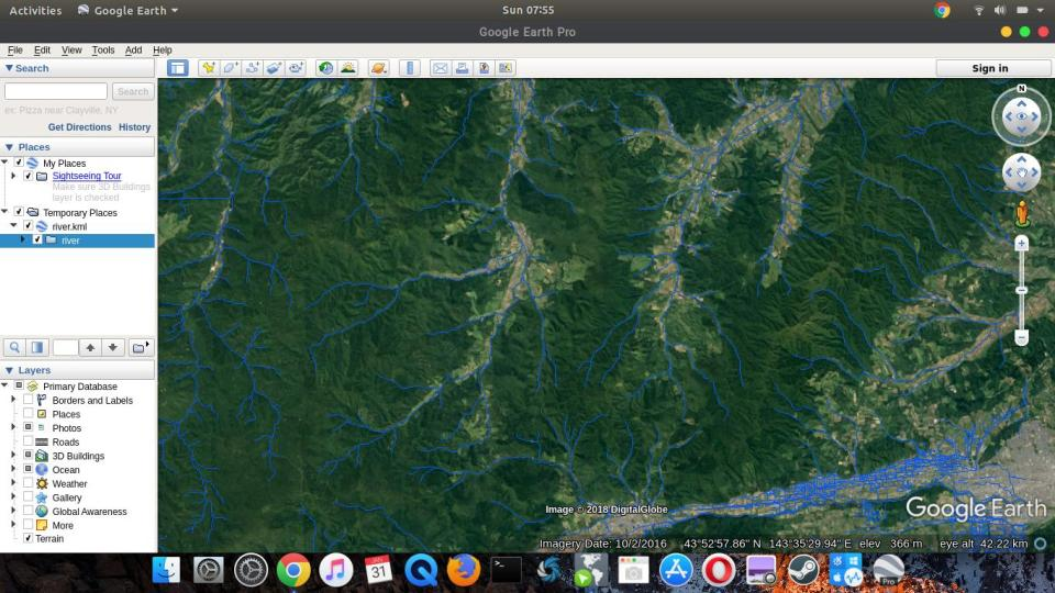 Export Vector Layer to Google KML on QGIS
