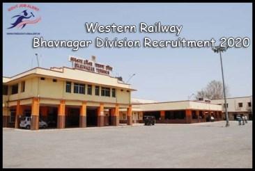 Western Railway Bhavnagar Division Recruitment 2020