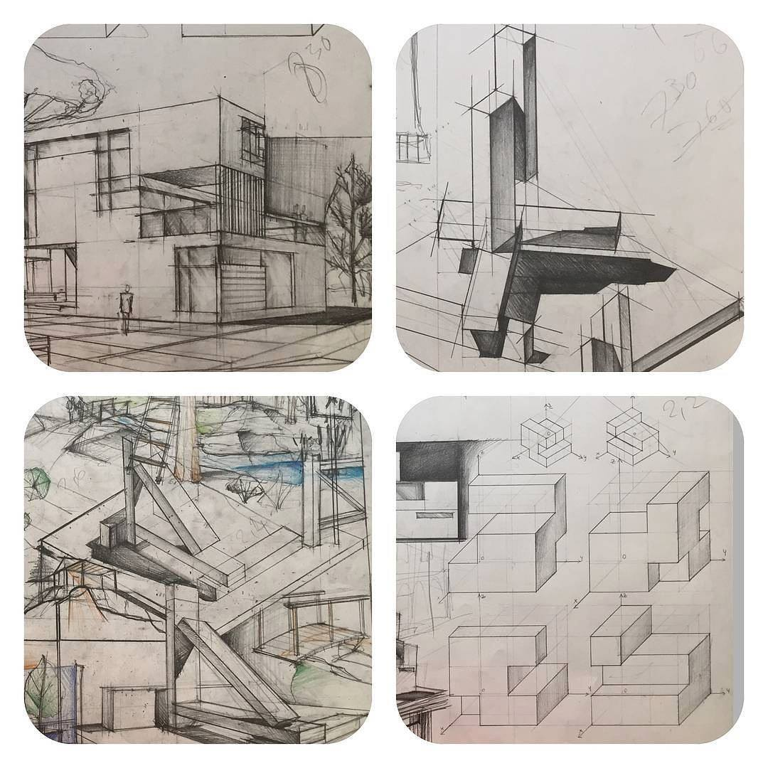The Perfect Architectural Drawing Lesson