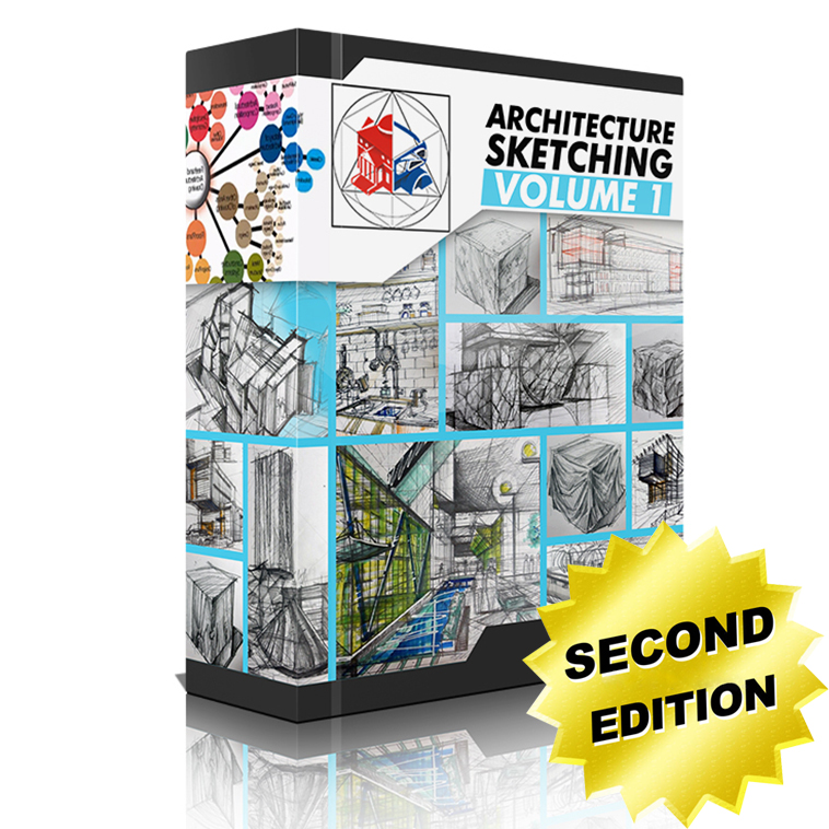 Architecture Sketching Volume 1