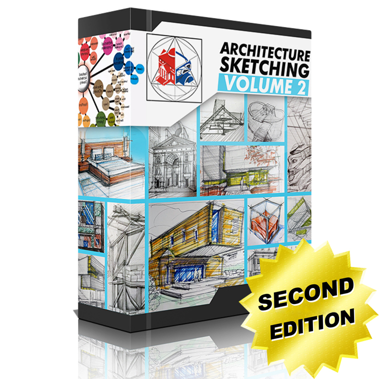 Architecture Sketching Volume 2