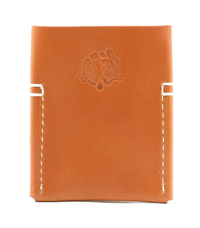 Tan Semoran Leather Cardholder