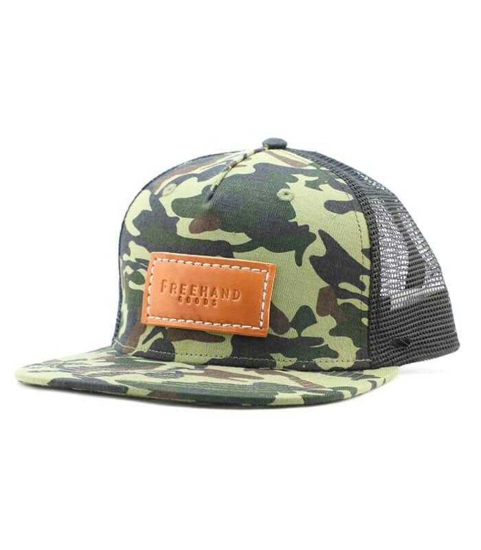 Camo Trucker 5 Panel Hat