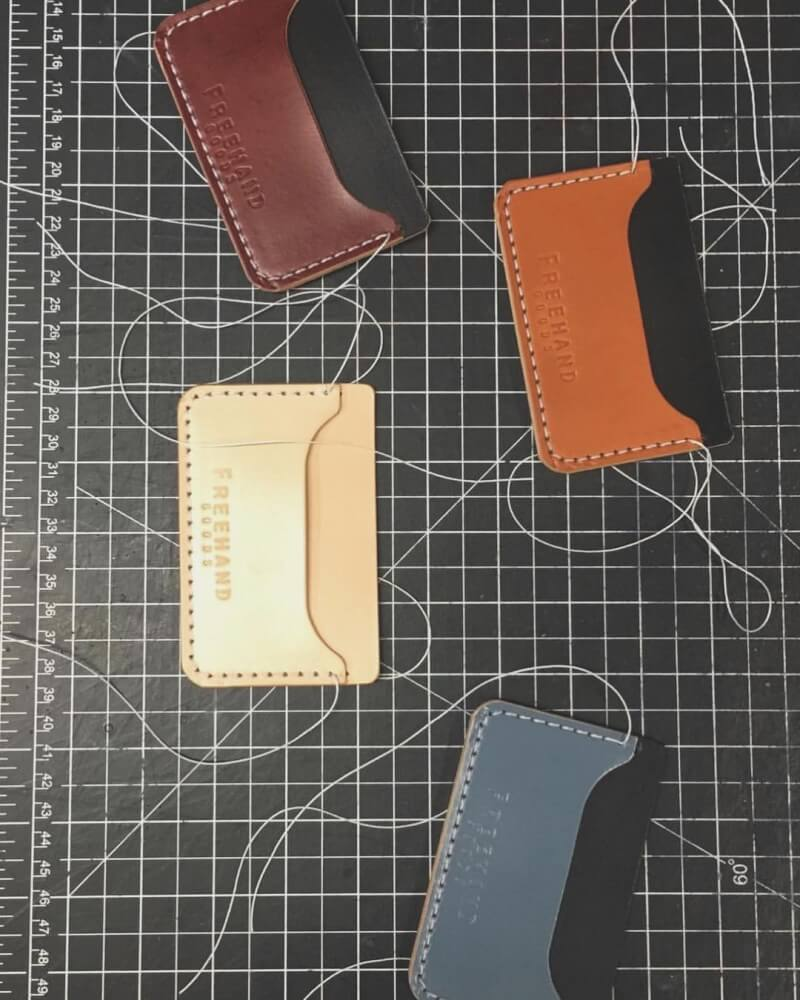 Colonial Leather Cardholders