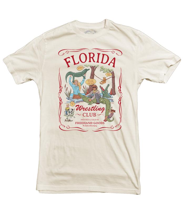 Florida Wrestling Club Tee