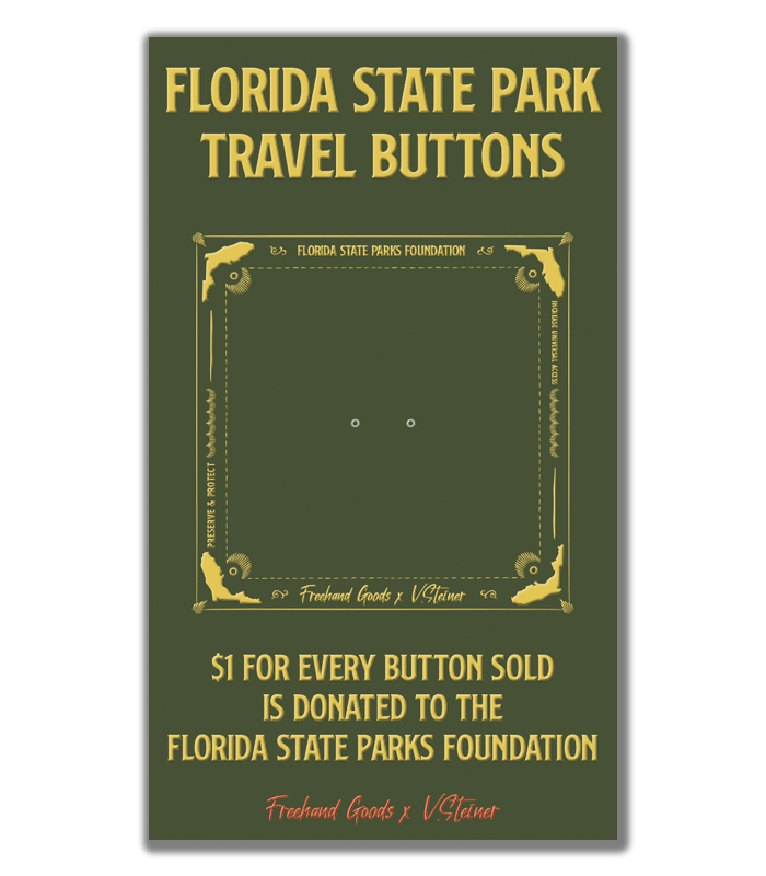 Florida State Park Card Front