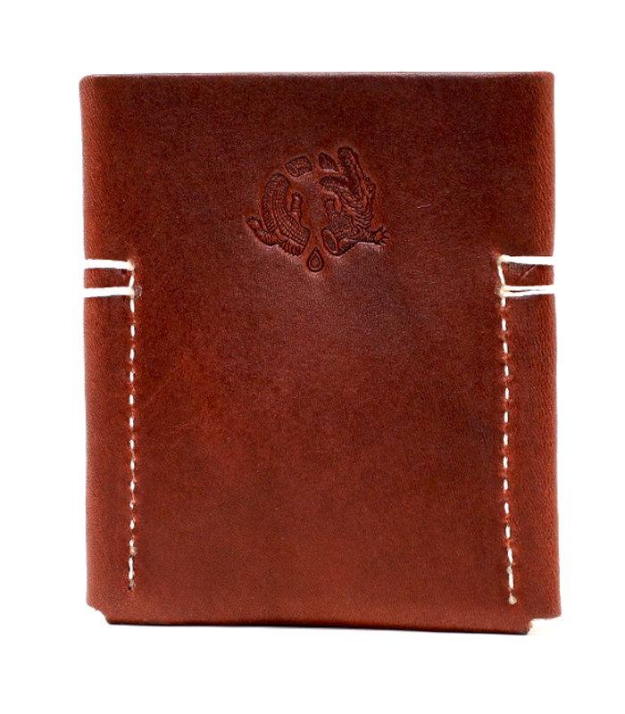 Chestnut Semoran Leather Cardholder