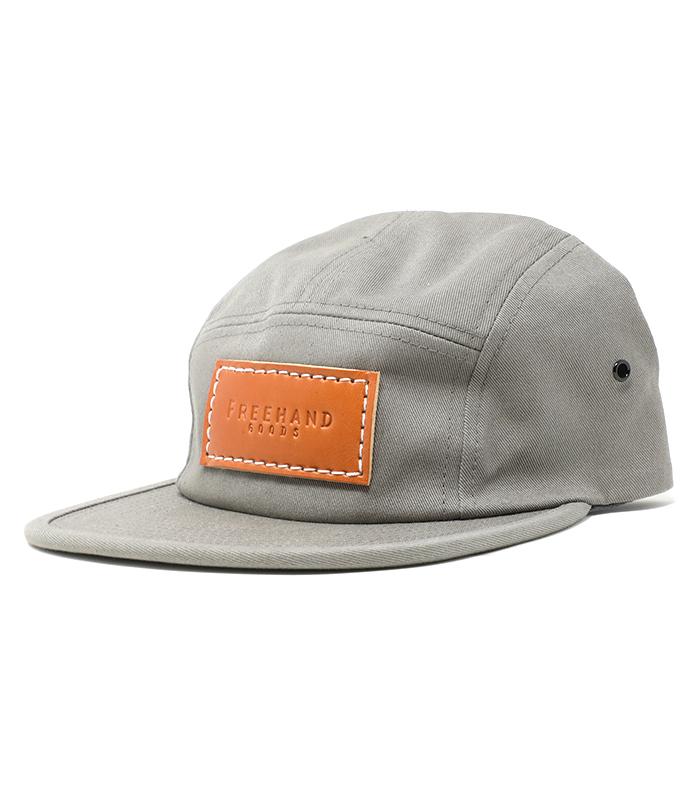 Grey Camper 5 Panel Hat