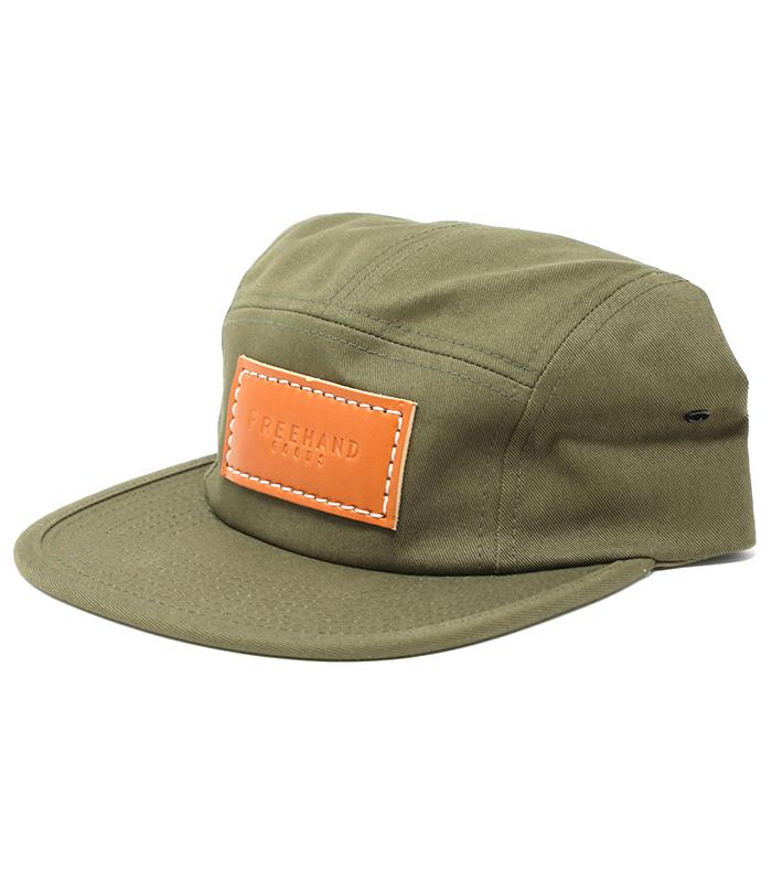 Olive Camper 5 Panel Hat