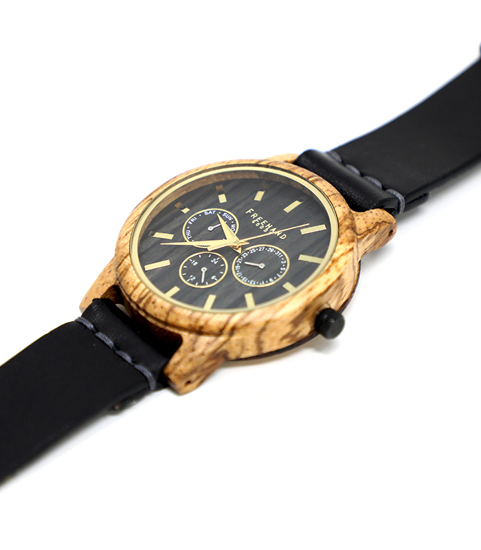 Black Summerlin Leather Watch