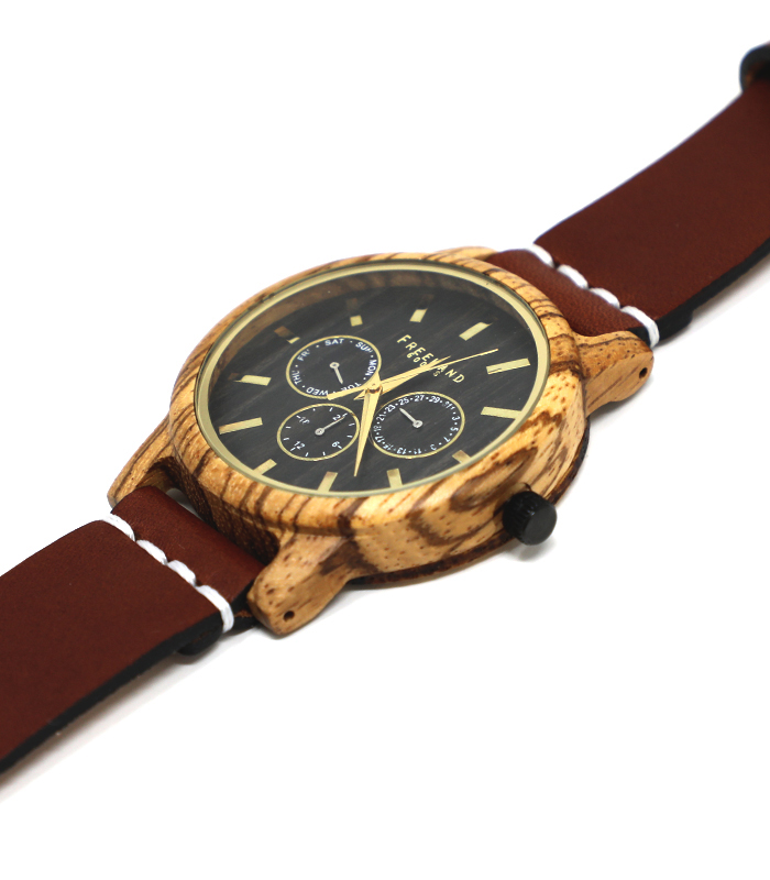 Chestnut Summerlin Leather Watch