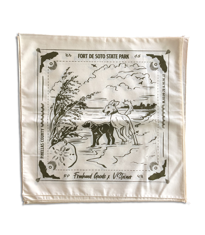 Fort De Soto Travel Bandana