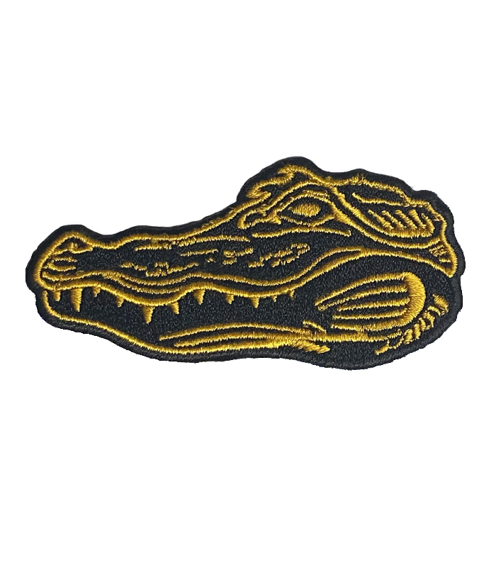 Gator Embroidered Patch