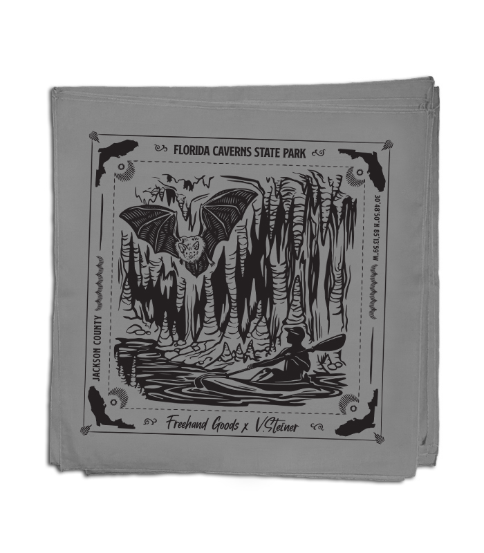 Florida Caverns Travel Bandana