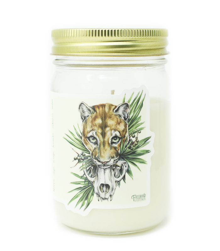 Endangered Signature Soy Candle
