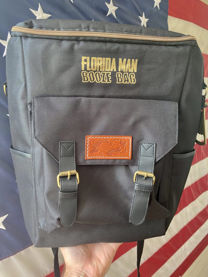 Florida Man Booze Bag Cooler