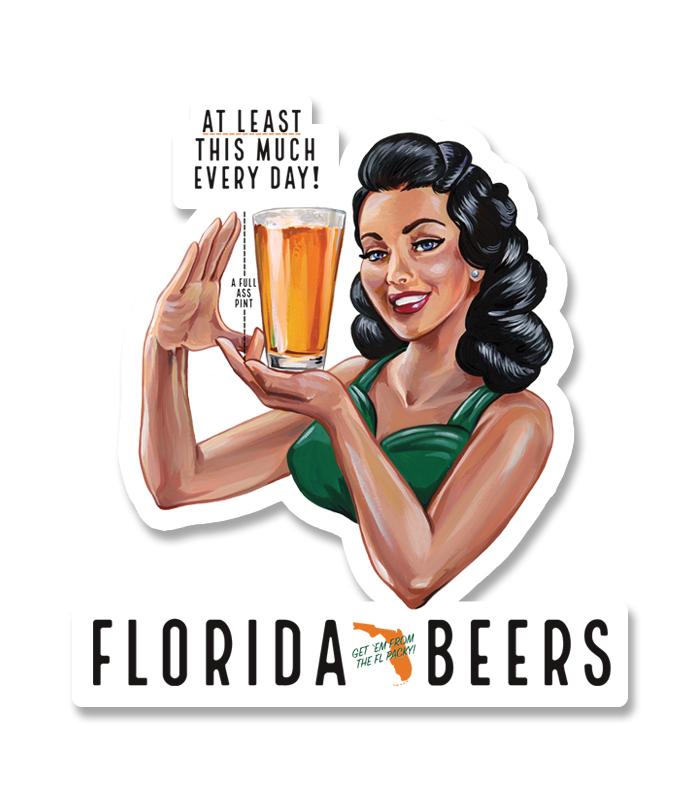 Florida Packy Sticker