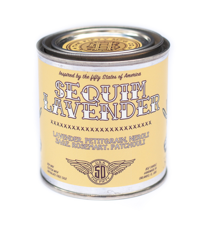 Sequim Lavender Soy Candle