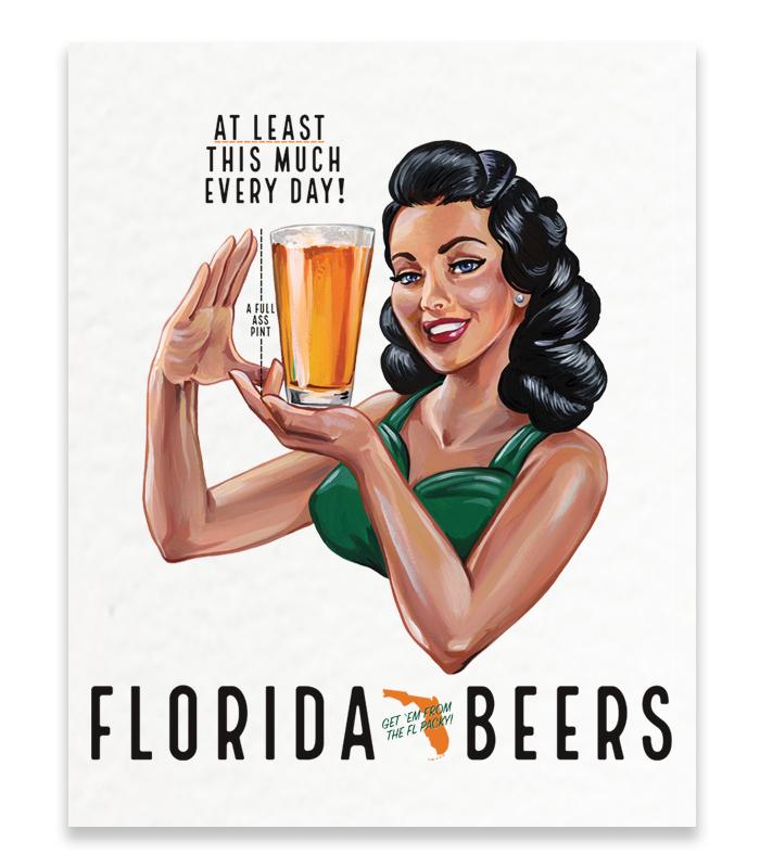 Florida Packy Print