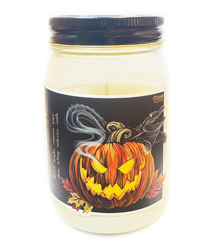 Pumpkin Holiday Soy Candle