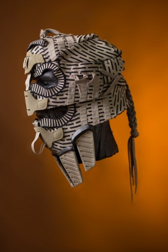 The 138th sneaker mask created by Freehand Profit. Made from 2 pairs of adidas NMD R2 PK. Find out more about the work on FREEHANDPROFIT.com. On display at adidas SOHO 3/2017!