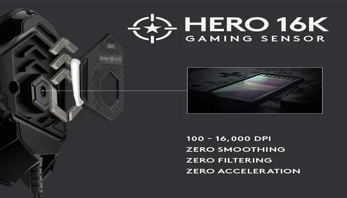 Logitech G502 16K HERO Sensor