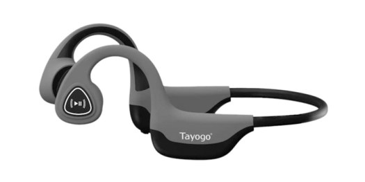 Tayogo Bone Conduction Headphones with Microphone