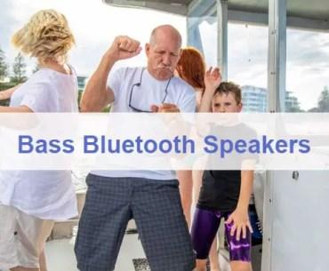 Best Bass Bluetooth Speaker